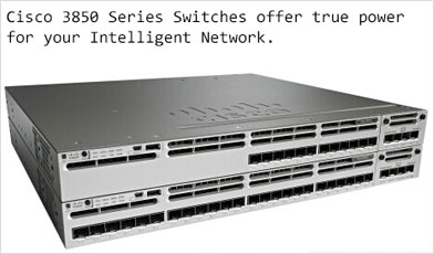 Used Cisco 3850 Series Switches